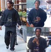 Wholesale London Hoodie - Wholesale-2017 New Arrived Men Women Sweatshirt Crewneck Pullover Tokyo Los Angeles London New York Embroider Hoodie Men Sweatshirts