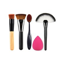 Wholesale Essentials Girls - Pro Cosmetic Blush Makeup Face Powder Blusher Curve Makeup Brushes for Foundation Lady Girls Makeup Tool Face Make Up Beauty Essentials