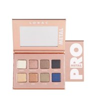 Hot Lorac metallo Pro 8 Shades Eye Shadow Palette Nuova tavolozza vs Lorac Mega Pro 3 Los Angeles tavolozza limitata Edition ombretto
