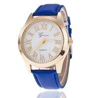 Wholesale British Coupling - Popular Geneva watches sell like hot cakes Fashion belt couples watch quartz watch British wind business newest ms Geneva