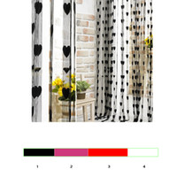 Wholesale Sheer Curtains Tassels - Wholesale-Tassel Line String Drape Sheer Curtain for Wall Door Window Vestibule Home Decoration Cortina Divider For Living Bedroom