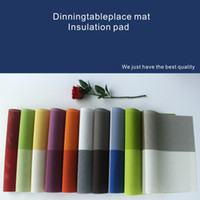 Wholesale A variety of colors of the fashion table mat wear high temperature easy to clean environmentally friendly materials