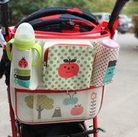 Wholesale Kinderwagen Stroller - Wholesale- Baby Stroller Collector bag Stroller Organizer Childern Carriage Pram Baby Cup Holder Crib Babe Carriage Prams Bag Kinderwagen