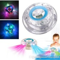 Wholesale Light Tubs - Waterproof Led Bath Toys Party in the Tub Bath Water LED Light Kids Waterproof Children Colorful Toys Kids Baby Toys Bathroom LED Light