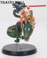 Wholesale Dragon Ball Z Fantastic Arts - TraVelMall New in Box Anime Gokou son goku Shenron 13cm PVC Action Figure Toy Model for Dragon Ball Z fantastic arts kids gift