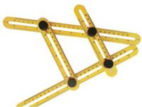 herramienta de manitas al por mayor-Angle-izer Multi-Angle Ruler Template Tool Instrumento de medida Cuatro caras de la regla All Angel Forms For Handymen Builders Craftsmen Repetitive