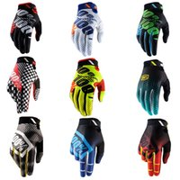 Wholesale Motocross Tld - 2017 Motocross for 100 Percent Ridefit AM Bike Gloves MTB Mountain Bike Moto Motorcycle TLD DH Cycling Bicycle 100% Gloves