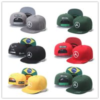 Wholesale Animal Chapeau - Cheap Fashion 2016 new cap Lewis Hamiltons Signature Edition snapback hat F1 Champion Racing sports Baseball chapeau Automobile