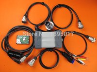 Wholesale Star C3 Tester - DHL Free mb star c3 multiplexer Professional Diagnosis Tester MB Star C3 Full Set with New 2014.12V Software!