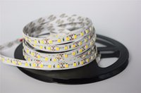 Wholesale 5mm Led Warm White - BSOD SMD 2835 LED Strip DC12V Warm White 120leds m 600pcs roll No Waterproof IP20 5m Length 5mm Width Flexible String Bright