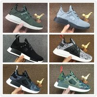 Wholesale Youth Skis - 2017 21 Colors Top Quality NMD XR1 Fall Olive green Grey Sneakers Women Men Youth Running Shoes NMD XR1 PK Sports Shoes Size 36-45