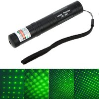 Wholesale Single Green Laser - Green Laser Pointer Pen JD-851 High Power 532NM Bright Single Point Starry 2 in 1 Lazer High Quality