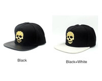 41cdabfc2c7 Wholesale youth baseball hats online - PUNK YOUTH Brand STAPLE Snapback  Skeleton Gold Diamond Hat Hip