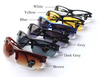 Wholesale Motorcycle Goggles Black - Sunglasses Sport Cycling Eyewear Newest Bicycle Motorcycle Goggles Outdoor Sports Sunglasses For Men Women Sun Glasses