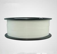 ingrosso filamento 3d 1kg-Filamento flessibile bianco di Freeshipping 1kg 1.75mm, filamento flessibile, filamento di gomma per la stampante 3d