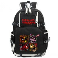 Wholesale Night Backpack - Wholesale- Game Five Nights At Freddy's Freddy Chica Foxy Bonnie Backpack FNAF Shoulder Bag