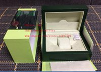 Wholesale Gift Boxes Prices - Free Shipping Cheap Price Green Brand Original Box Papers Gift Watches Boxes Leather bag Card 185mm*134mm*84mm 0.7KG For Swiss Brand Watch