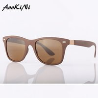 Wholesale Protection Drivers - AOOKONI AK4195 Brand UV Protection Glasses for Fishing Mirrored Women & Men Sun Glasses UV400 Sun Glasses Women Driver Points classical