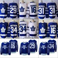 Wholesale Red Leafs - 2017-18 New Season Toronto Maple Leafs Mens 16 Mitchell Marner 34 Auston Matthews 29 William Nylander 31 Frederik Andersen Hockey Jerseys