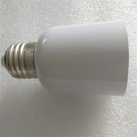 adaptador ba15d al por mayor-Socket E27 a E40 Adaptador de adaptador de lámpara convertidor E27 Base para gran bulbo de led gran material incombustible de luz de maíz
