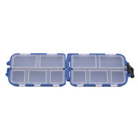 Wholesale Fishing Tackle Box Compartments Fishing Lure Spoon Hook Bait Tackle Case Box Fishing Accessories Tools