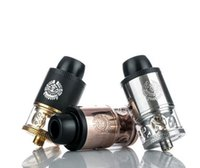Wholesale Hollow Vaporizer - Merlin RDTA Tank Elegant Hollowed-out Logo 3.5ml Capaticy Easy to Wick and Refill Vaporizer Ijoy Combo RDTA