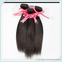 Wholesale Mix Length Cheap Virgin Hair - Virgin Indian hair Straight, natural black hair, Mixed Length 8A unprocessed hair extension 1 bundle 50g cheap human hair weave
