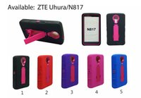 Compra Supporto Verticale-Per il iPhone 7 7plus 6 6SPlus SE 5S Samsung S7 ZTE Silicone + Pc 2 in 1 Supporto verticale Kickstand Hybrid Robot Mobile Phone Case