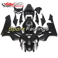 Wholesale Gloss Carbon Fiber - Complete Motorcycle Imitation Of Carbon Fiber Gloss Black Injection Fairings For Honda CBR600RR F5 05-06 Year 2005 2006 Bodywork