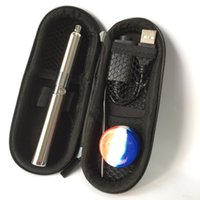Wholesale Herbal Gel - Mini Evolve plus Vaporizer Pen Starter Kits Dry Herb Wax Herbal Vaporizer With Dabber Tool Silica gel box