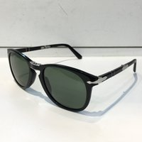 Wholesale unique sunglasses - Persol Sunglasses 714 Series Italian Designer Pliot Classic Style Glasses Unique Shape Top Quality UV400 Protection Can Be Folded Style