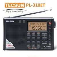 Wholesale Radio Receiver Sw - Wholesale-World Band TECSUN PL310ET PLL DSP ETM Multiband portable radio receiver. FM Stereo SW MW LW Digital Receiver