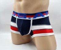 online shopping Men White Underwear Pants - ET Men Boxer Underwear Pants Cotton Opening Waist Shorts Boxers Sexy Men's Underwear Brand Boxer Sexy underwear