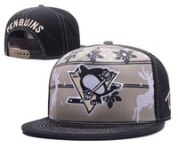 Wholesale Good Penguin - new By DHL Snapback Hats Pittsburgh Penguins Hat Blackhawks snapbacks Sharks Caps Good Quality hockey Snap Back