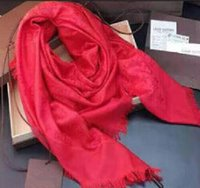 Wholesale Silk Fashions Women - Factory Sell classic cotton pashmina scarf shawl women silk scarf metal printing scarf wraps 140*140 14 colors