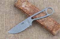 sabit bıçaklı düz bıçak toptan satış-IZULA 12992 Rowen D2 blade ile sabit bıçak bıçak taktik av bıçağı kamp düz ESEE bıçak açık survival aracı K Kılıf