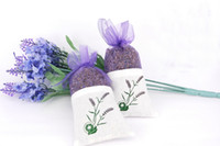 Lavender Buds blue dried flowers - Fragrant Natural Lavender Buds Dried Flowers Deodorant Sachets Ultra Blue Grade
