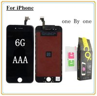 Wholesale iphone digitizer film for sale - Top Quality AAA For iPhone G LCD Display Touch Digitizer with Strong Cold Glue Frame Assemble Toughened glass protective film