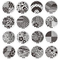 Wholesale steel art printing template for sale - Group buy 60 style D Flower Image Design Polish Printing Stamp Template Nail Art Stamping Plates Stainless Steel Manicure Stencils For Nails
