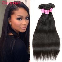Wholesale human braiding hair 22 inches for sale - Group buy 8a Grade Cambodian Virgin Hair Extension Weft Remy Virgin Cambodian Weft Straight Human Hair Extensions Cheap Human Braiding Hair Bundles B