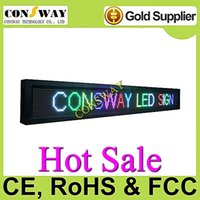 Wholesale Led Message Displays Programmable - Free shipping and CE approved programmable led message display sign with RGB and size 2000*240mm