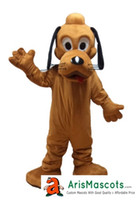 Wholesale New Pluto Mascot Costume - 100% real photos new Pluto Dog Dress mascot suit cartoon character mascots fancy dress costumes kids carnival party dress