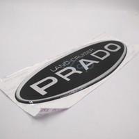 Wholesale Cover For Spare - For Toyota Land Cruiser Prado Resin Logo Car Rear Spare Tire Cover Emblem Badge Nameplate Sticker