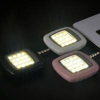 caixa de telefone universal venda por atacado-NOVA Universal 3.5mm Jack Mini LED Flash de Flash De Preenchimento De Câmera Extra Light Flash lâmpada para Celular Móvel com caixa de varejo frete grátis