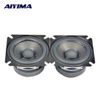 Wholesale Sound Digital Mini Amp - Wholesale- AIYIMA 2Pcs 2.5Inch 4Ohm 15W Full Range Speakers Top HIFI Digital Speaker Tube Amp Good Audio Sound