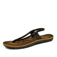 640f59c0bdfa0f Men Slippers Summer Flip Flops Casual Slip-Resistant Man sandals Man  Sandalias De Hombre Beach Swim Wear Shoe