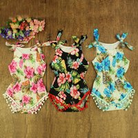 Wholesale Cutest Infant Clothes - Near Cutest 3pcs lot Summer Baby Romper Sleeveless 100% Cotton Bebe Clothing Newborn Baby Girl Clothes Infant Jumpsuit
