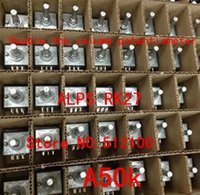 Volume Alpes Pas Cher-Vente en gros- 5PCS Original Japan ALPS RK27 Double le potentiomètre de volume A50K