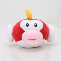 Wholesale Super Mario Flying - 15cm Super Mario Bros Flying Fish plush toys Ghost stuffed toys Doll Plush toys baby toy gift