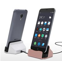Wholesale S4 Charge Station - Universal Phone Stand Holder Micro USB Charging Dock Station Charge Charger for Samsung Galaxy S4 J5 Note 4 Oneplus HTC Android
